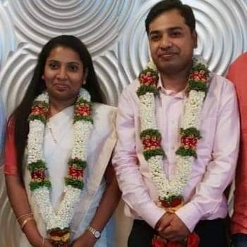 Udupi district Deputy Commissioner Hephsiba Rani weds IAS officer Ujjwal Kumar Ghosh at Hubballi